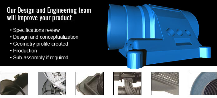 A&M Tool and Molding Design and Engineering Services
